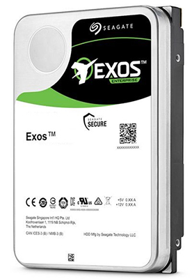 Seagate Exos X16 3.5-Inch Internal 512e/4Kn SATA Enterprise Hard Drive