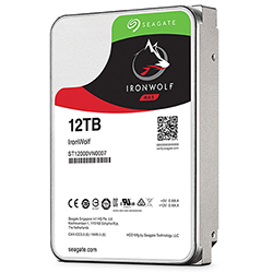 Left Angle View (12TB Hard Drive)