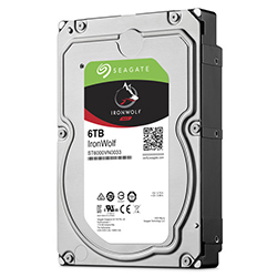 Left Angle View (6TB Hard Drive)